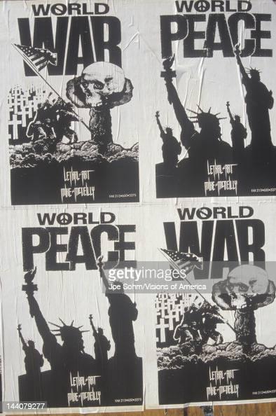 Antiwar posters California