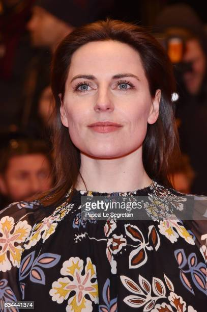 Antje Traue attends the 'Django' premiere during the 67th Berlinale International Film Festival Berlin at Berlinale Palace on February 9 2017 in...