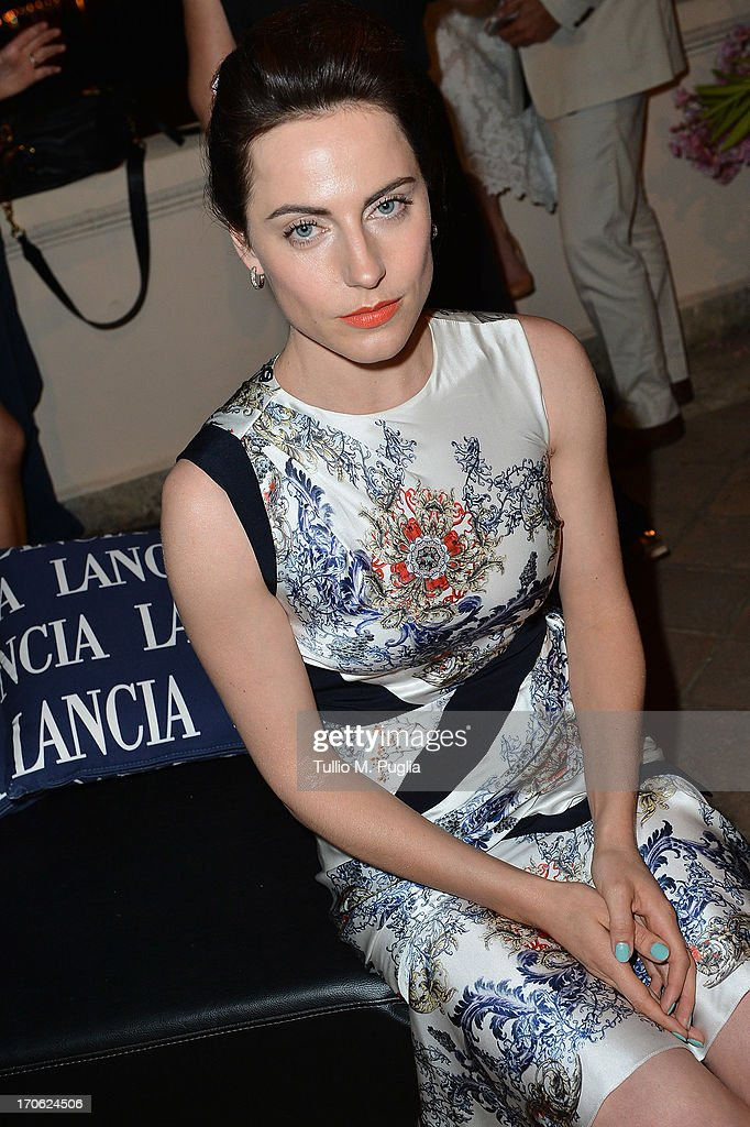 <a gi-track='captionPersonalityLinkClicked' href=/galleries/search?phrase=Antje+Traue&family=editorial&specificpeople=5708813 ng-click='$event.stopPropagation()'>Antje Traue</a> attends the Lancia Cafe during the Taormina Filmfest 2013 on June 15, 2013 in Taormina, Italy.