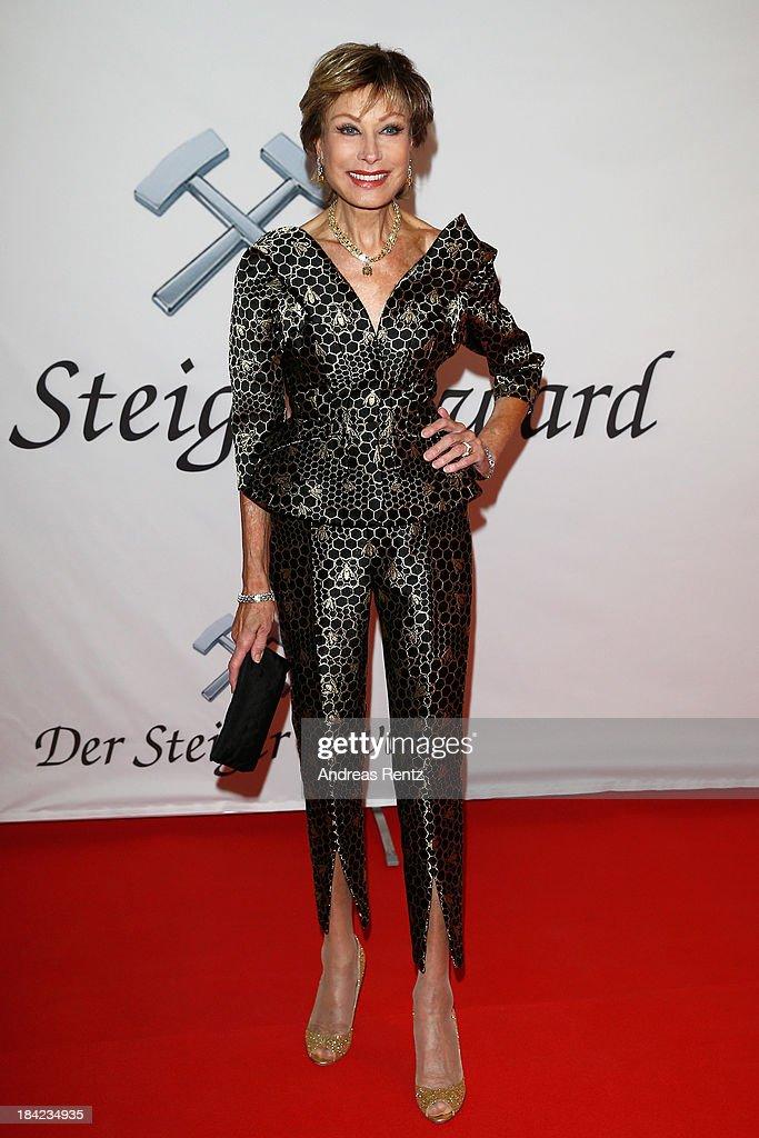 Antje-Katrin Kuehnemann attends the Steiger Award 2013 at Dortmunder U on October 12, 2013 in Dortmund, Germany.