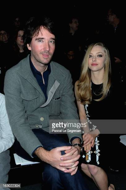 Antoine Arnault and Amanda Seyfried attend the Givenchy Fall/Winter 2013 ReadytoWear show as part of Paris Fashion Week on March 3 2013 in Paris...