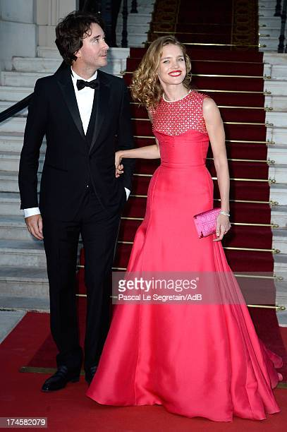 Antoine Arnault and Natalia Vodianova arrive at 'Love Ball' hosted by Natalia Vodianova in support of The Naked Heart Foundation at Opera Garnier on...