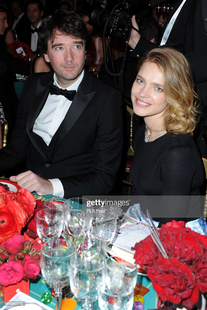 Antoine Arnault and Natalia Vodianova attend the 'Bal De La Rose Du Rocher' in aid of the Fondation Princess Grace on the 150th Anniversary of the SBM at Sporting Monte-Carlo on March 23, 2013 in Monte-Carlo, Monaco.