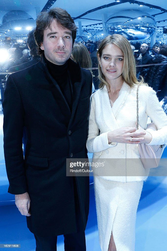 Antoine Arnault and Natalia Vodianova attend the Christian Dior Fall/Winter 2013 Ready-to-Wear show as part of Paris Fashion Week on March 1, 2013 in Paris, France.
