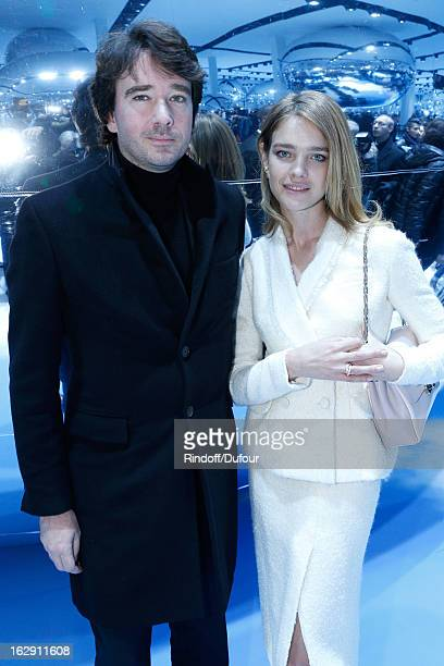 Antoine Arnault and Natalia Vodianova attend the Christian Dior Fall/Winter 2013 ReadytoWear show as part of Paris Fashion Week on March 1 2013 in...