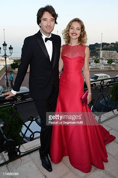 Antoine Arnault and Natalia Vodianova attend the cocktail at the 'Love Ball' hosted by Natalia Vodianova in support of The Naked Heart Foundation at...