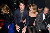 Antoine Arnault and Natalia Vodianova attend the Etam Live Show Lingerie at Bourse du Commerce on February 26 2013 in Paris France