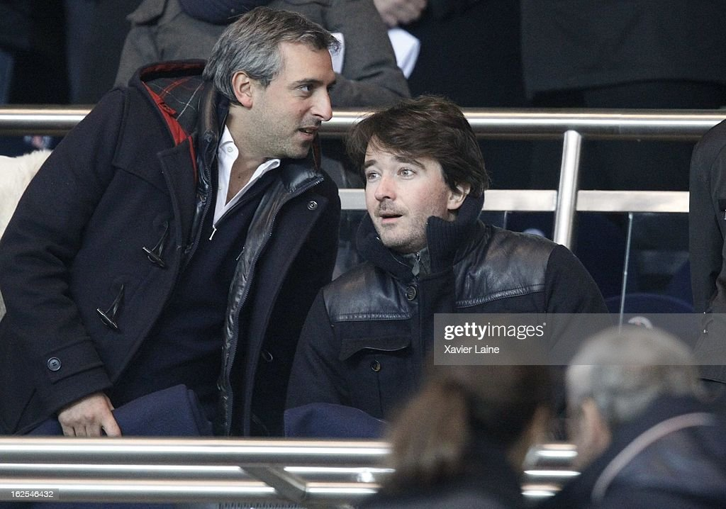 Antoine Arnault attends before the French League 1 between Paris Saint-Germain FC and Marseille Olympic OM, at Parc des Princes on February 24, 2013 in Paris, France.