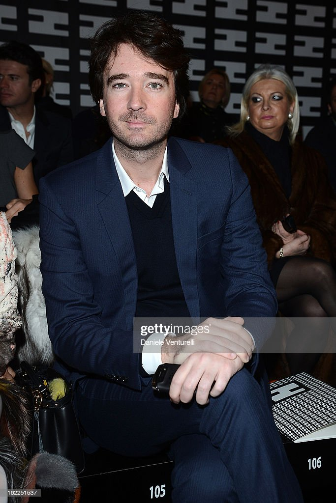 Antoine Arnault attends the Fendi fashion show as part of Milan Fashion Week Womenswear Fall/Winter 2013/14 on February 21, 2013 in Milan, Italy.