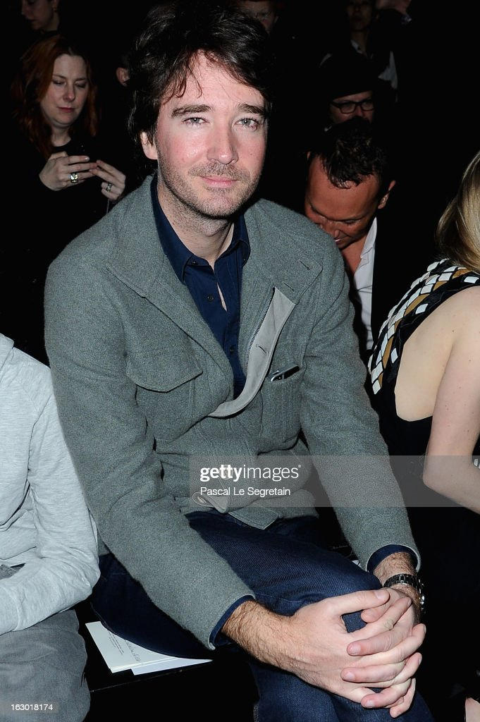 Antoine Arnault attends the Givenchy Fall/Winter 2013 Ready-to-Wear show as part of Paris Fashion Week on March 3, 2013 in Paris, France.