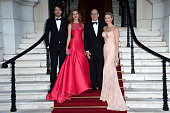 Antoine Arnault Natalia Vodianova Prince Albert II of Monaco and Princess Charlene of Monaco arrive at 'Love Ball' hosted by Natalia Vodianova in...