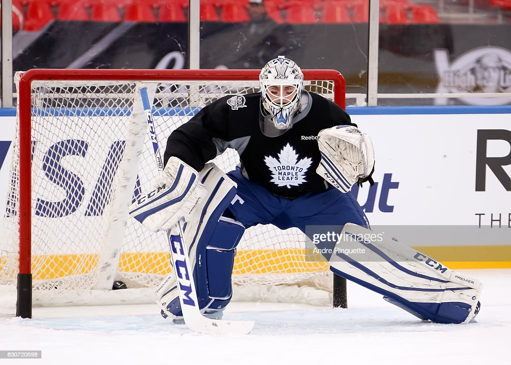 2017 Scotiabank NHL Centennial Classic - Toronto Maple Leafs Practice