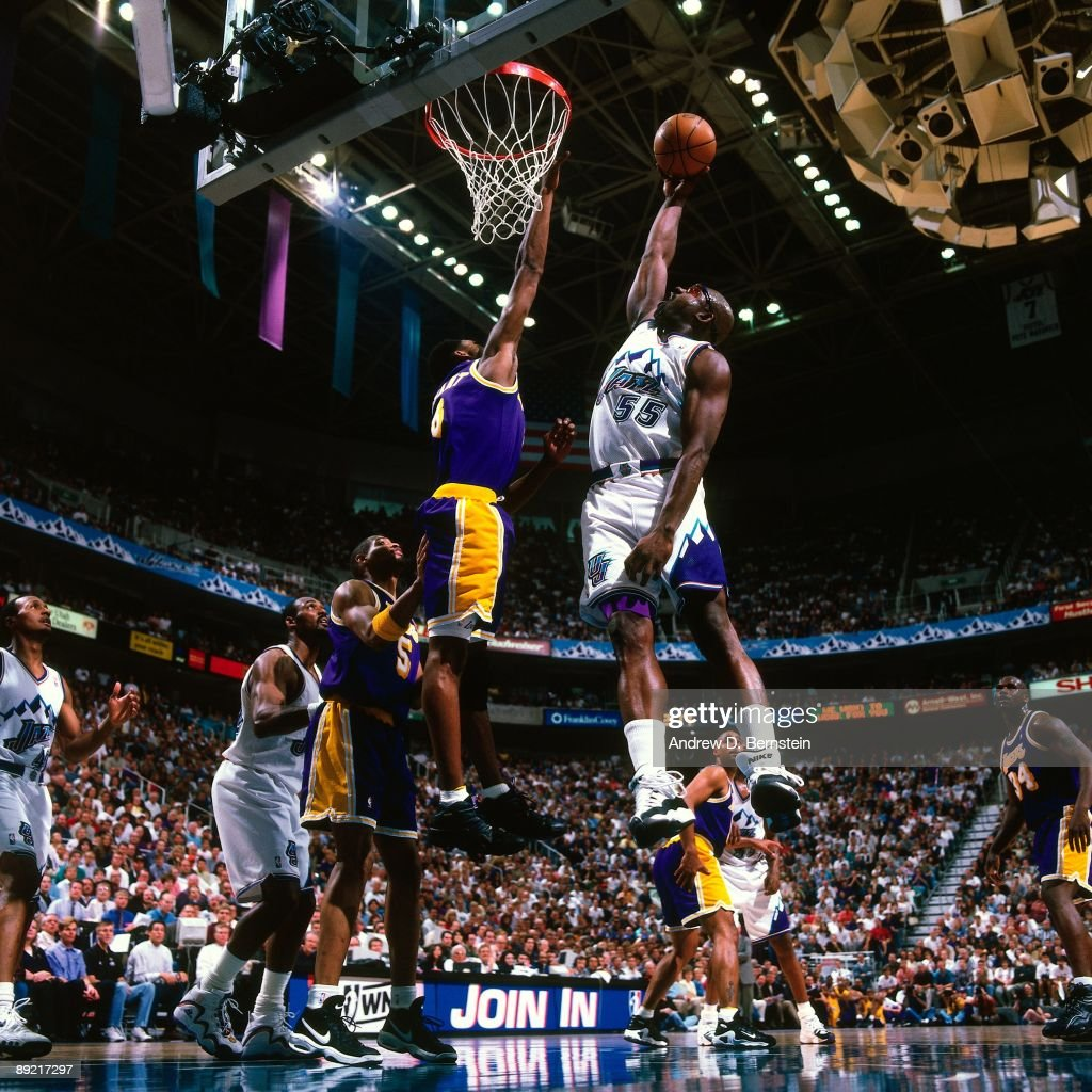 1998 Western Conference Finals Game 1 Los Angeles Lakers vs