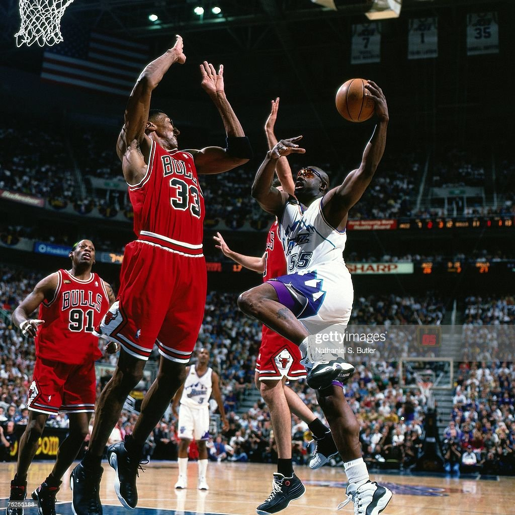 1998 NBA Finals Game 1 Chicago Bulls vs Utah Jazz