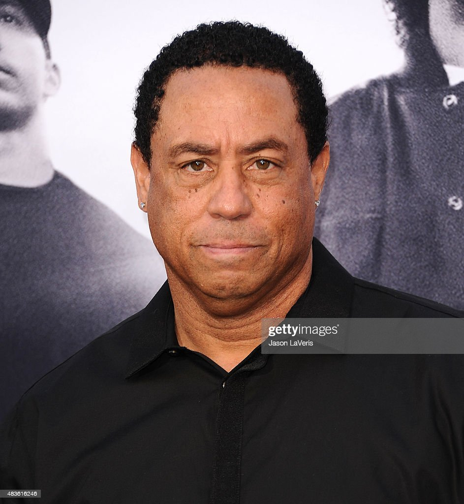 Antoine Carraby aka DJ Yella attends the premiere of 'Straight Outta Compton' at Microsoft Theater on August 10, 2015 in Los Angeles, California.