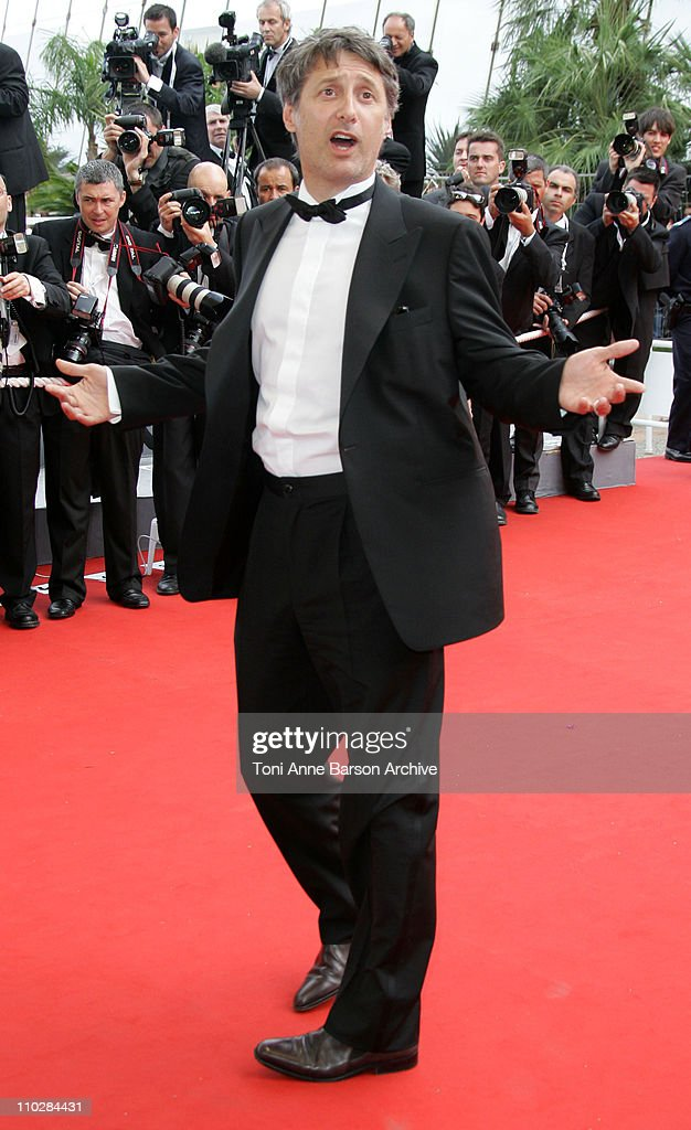 Antoine de Caunes during 2006 Cannes Film Festival - 'Selon Charlie' Premiere at Palais du Festival in Cannes, France.