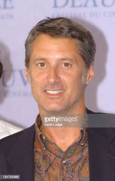 Antoine De Caunes during 32nd Deauville Film Festival 'Jury Palmares' Photocall at Deauville Film Festival in Deauville France