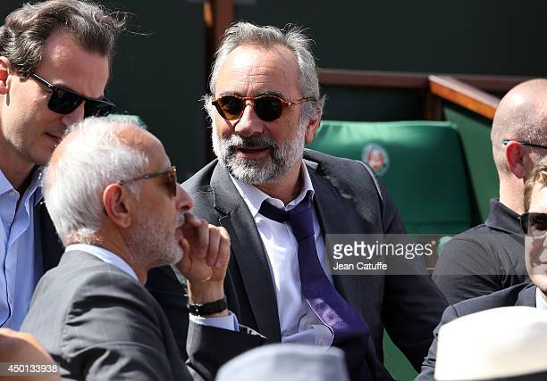 Antoine Dulery attends Day 12 of the French Open 2014 held at RolandGarros stadium on June 5 2014 in Paris France