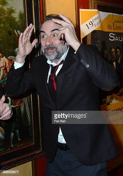 Antoine Dulery attends the 'Journee Du Livre Et Du Vin' 2014 Jury Press Conference At the Procope Restaurant on February 10 2014 in Paris France