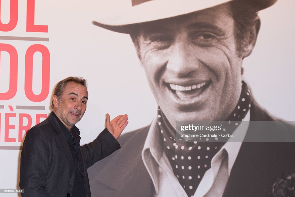 Antoine Dulery attends the Tribute to Jean Paul Belmondo and Opening Ceremony of the Fifth Lumiere Film Festival, in Lyon.