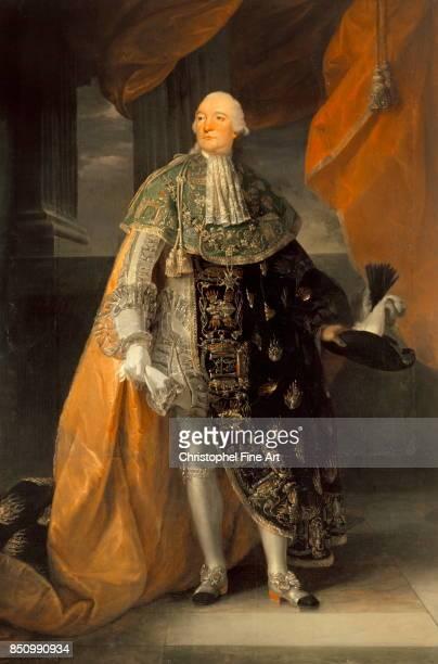 Antoine Francois Callet Portrait of Louis Philippe Joseph Duke of Orleans called Philippe Egalite in Grand Habit of the Order of the Holy Spirit Oil...
