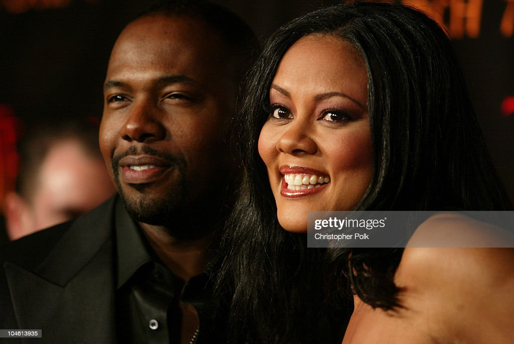 Antoine Fuqua and Lela Rochon during 'Tears Of The Sun' Special Screening Arrivals at Mann's Village in Westwood CA United States