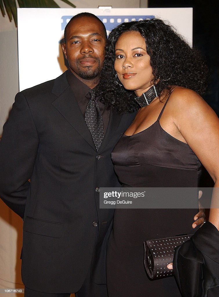 Antoine Fuqua and wife Lela Rochon during The 17th Annual American Cinematheque Award Honoring Denzel Washington at Beverly Hilton Hotel in Beverly...