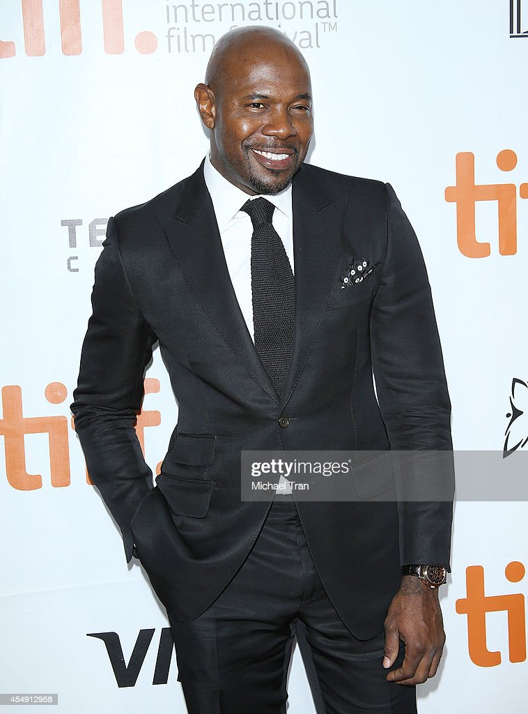 Antoine Fuqua arrives at the premiere of The Equalizer held during the 2014 Toronto International Film Festival Day 4 on September 7 2014 in Toronto...