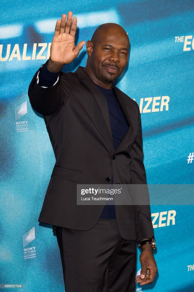 Antoine Fuqua attends the The Equalizer' Photocall at Hotel Adlon in Berlin on September 16 2014 in Berlin Germany