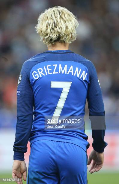Antoine Griezmann of France during the FIFA 2018 World Cup Qualifier between France and the Netherlands at Stade de France on August 31 2017 in...