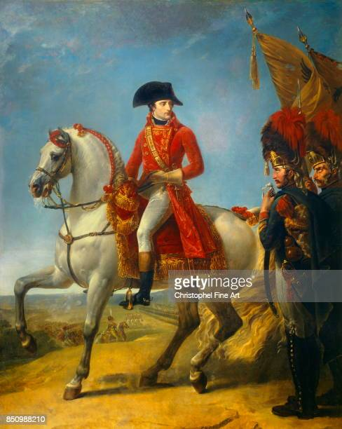 Antoine Jean Gros Equestrian Portrait of the The First Consul awarding a Sabre of Honour after the Battle of Marengo in June 1800 1803 Oil on canvas...