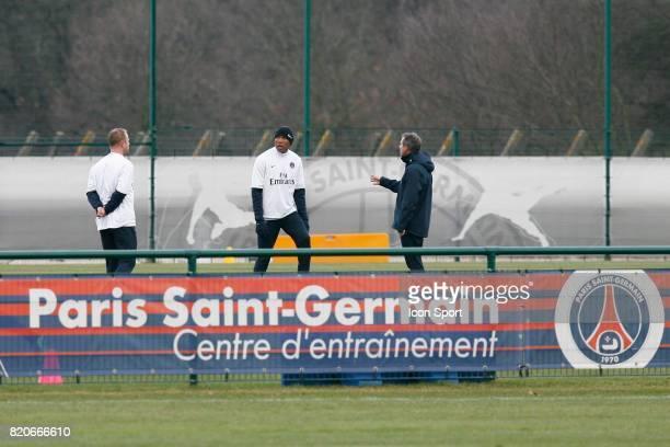 Antoine KOMBOUARE Entrainement du PSG Camp des Loges Saint Germain en Laye