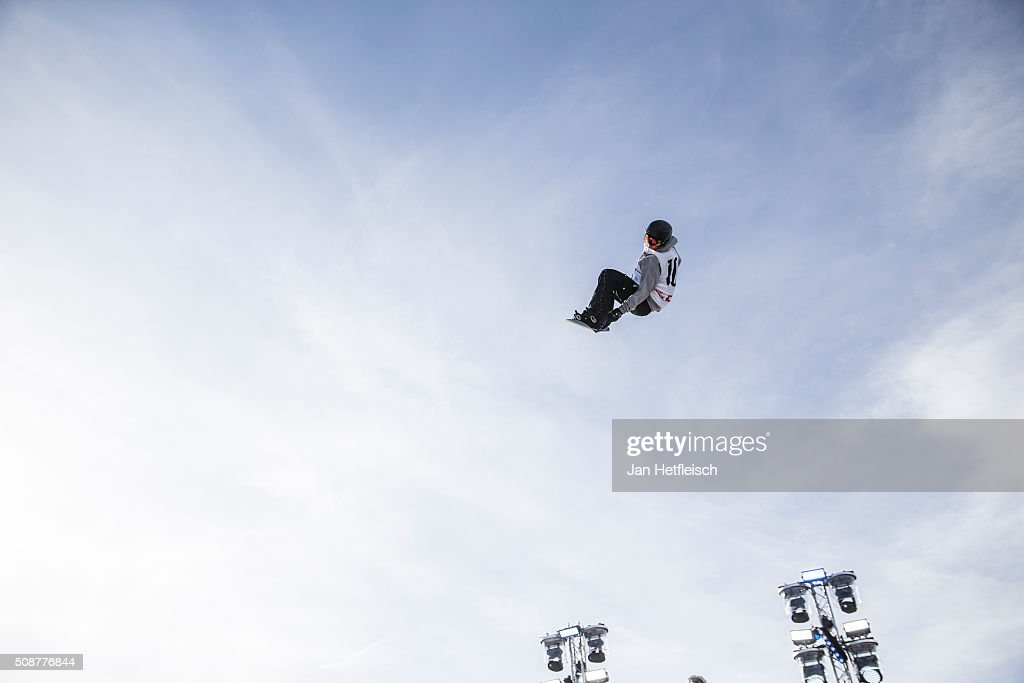Antoine Truchon from Canada jumps during Air and Style Festival February 6, 2016 in Innsbruck, Austria.