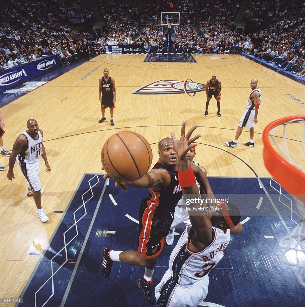 Miami Heat v New Jersey Nets s and