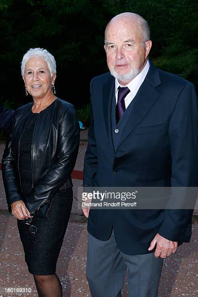 Antoine Zacharias with his wife Rose attend 'Friends of Quai Branly Museum Society' dinner party at Musee du Quai Branly on September 9 2013 in Paris...