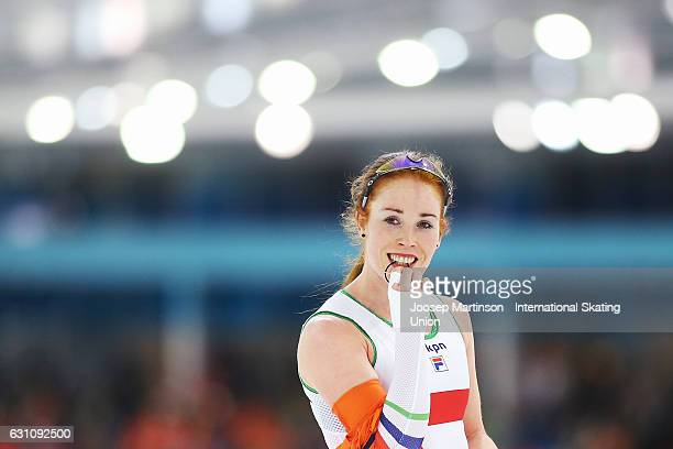 Antoinette De Jong Speed Skater Photos et images de ...