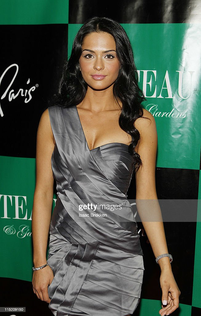 Antoinette Nikprelaj, a mermaid in 'Pirates Of The Caribbean: On Stranger Tides' arrives at Chateau Nightclub & Gardens on June 3, 2011 in Las Vegas, Nevada.