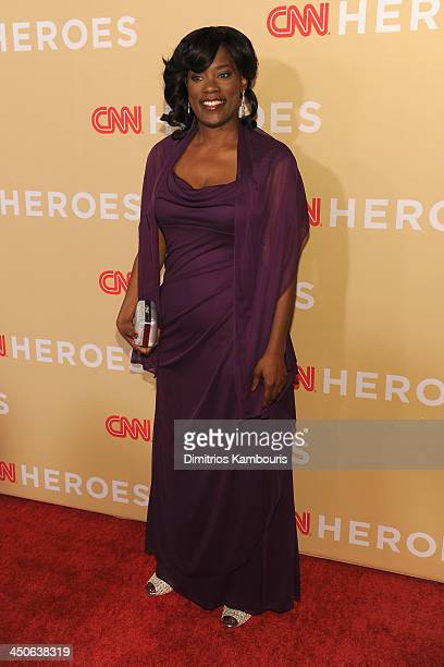 Antoinette Tuff attends 2013 CNN Heroes An All Star Tribute at the American Museum of Natural History on November 19 2013 in New York City...