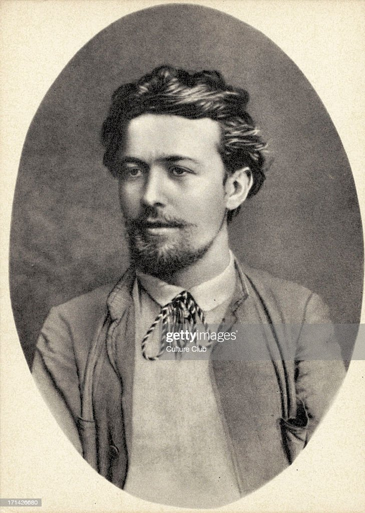 Chekhov Russia  city pictures gallery : Anton Chekhov portrait 1888 at Feodossia in the Crimea Russian ...