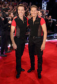 Anton du Beke and Brendan Cole attend the red carpet launch of ' Strictly Come Dancing 2015' at Elstree Studios on September 1 2015 in Borehamwood...