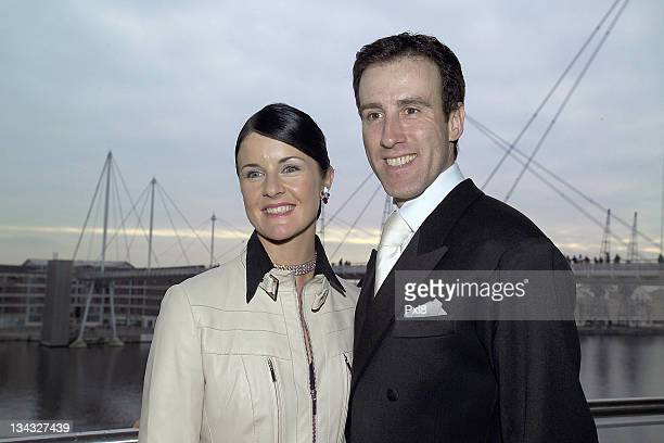 Anton Du Beke and Erin Boag during The Big Sunday February 5 2006 at ExCel London Docklands in London Great Britain