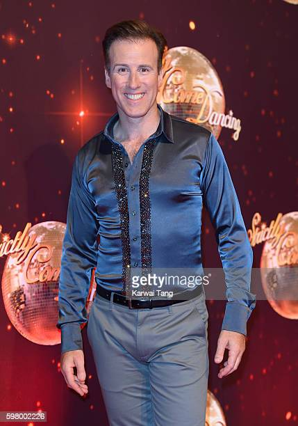 Anton du Beke arrives for the Red Carpet Launch of 'Strictly Come Dancing 2016' at Elstree Studios on August 30 2016 in Borehamwood England
