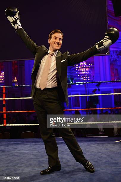 Anton Du Beke attends a Nordoff Robbins Boxing fundraising dinner at The Grand Connaught Rooms on October 24 2012 in London England