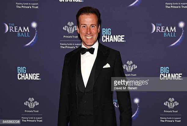 Anton du Beke attends The Dream Ball in aid of The Prince's Trust and Big Change at Lancaster House on July 7 2016 in London United Kingdom