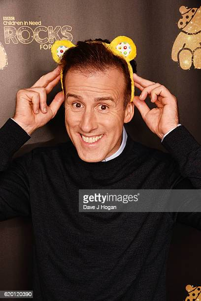 Anton du Beke supports BBC Children in Need Rocks for Terry at Royal Albert Hall on November 1 2016 in London England