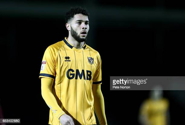 Anton Forrester of Port Vale in action during the Sky Bet League One match between Northampton Town and Port Vale at Sixfields on March 14 2017 in...