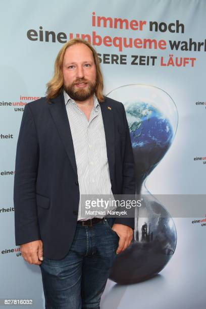 Anton Hofreiter attends a special screening of 'An Inconvenient Sequel Truth to Power' at Zoo Palast on August 8 2017 in Berlin Germany