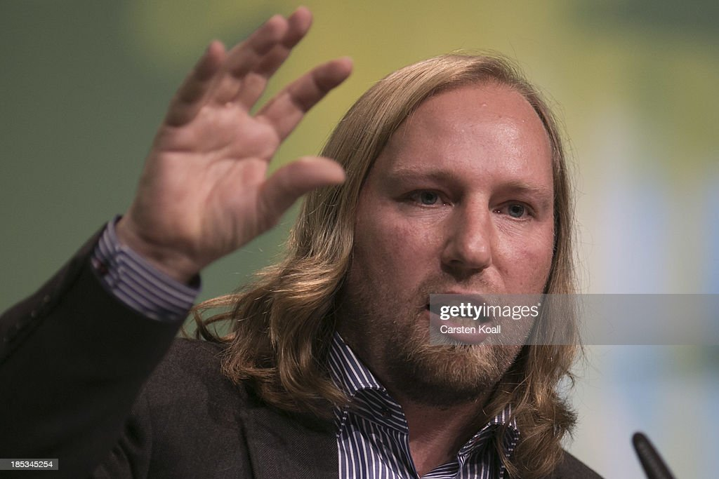 <a gi-track='captionPersonalityLinkClicked' href=/galleries/search?phrase=Anton+Hofreiter&family=editorial&specificpeople=11451109 ng-click='$event.stopPropagation()'>Anton Hofreiter</a>, newly elected German Greens Party (Buendnis 90/Die Gruenen) Bundestag faction co-leader, speaks at a federal conference of Greens Party delegates on October 19, 2013 in Berlin, Germany. The Greens Party is seeking new directions and will restructure its leadership following weak results in recent German elections.