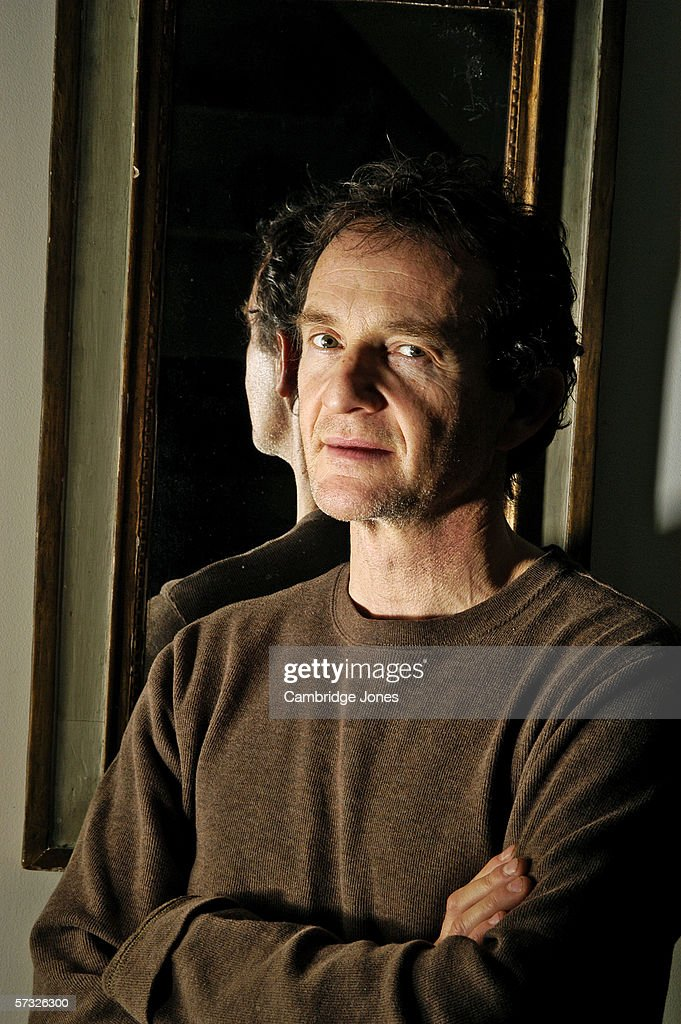 Anton Lesser poses during a photo call held on January 12, 2005 at his home in London, England.