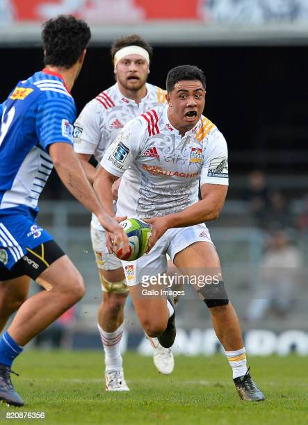 Anton LienertBrown of the Chiefs during the Super Rugby Quarter final between DHL Stormers and Chiefs at DHL Newlands on July 22 2017 in Cape Town...
